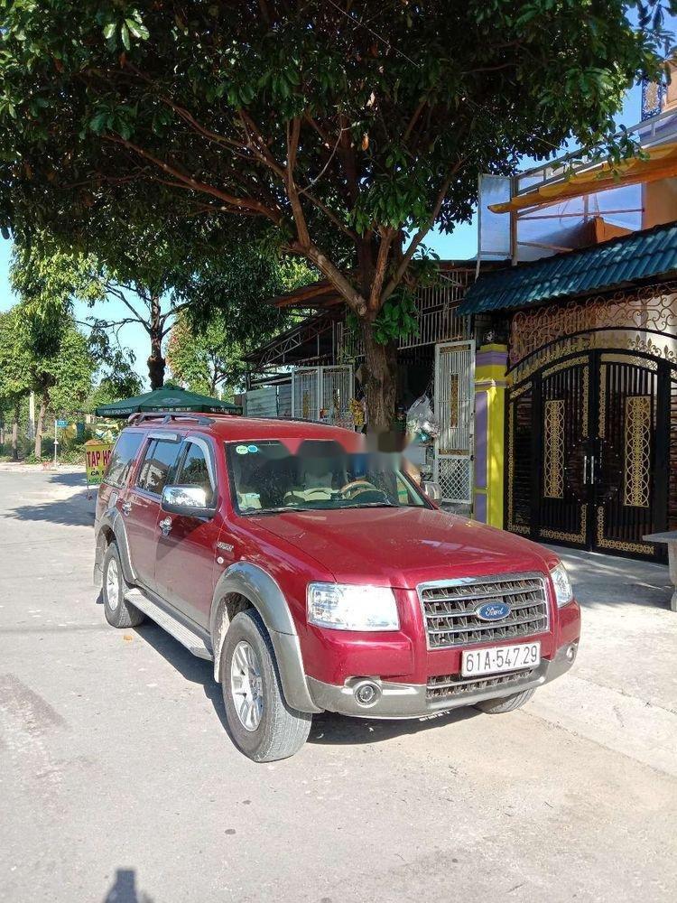 Bán Ford Everest năm 2008, màu đỏ, xe nhập chính hãng (1)