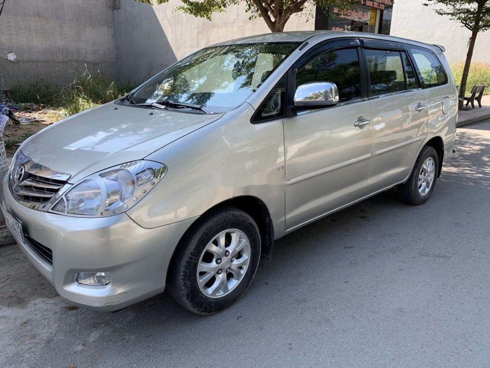 Bán ô tô Toyota Innova 2006, màu bạc xe nguyên bản (2)