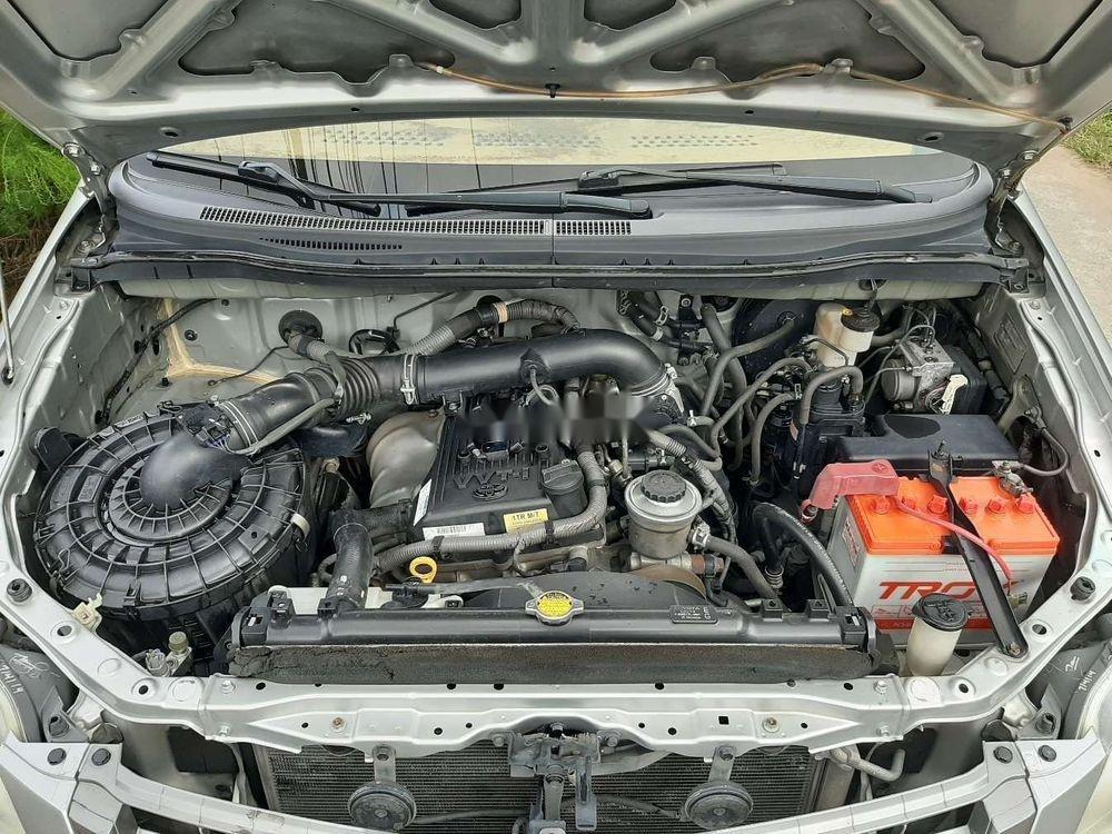 Bán Toyota Innova 2014, màu bạc xe nguyên bản (6)