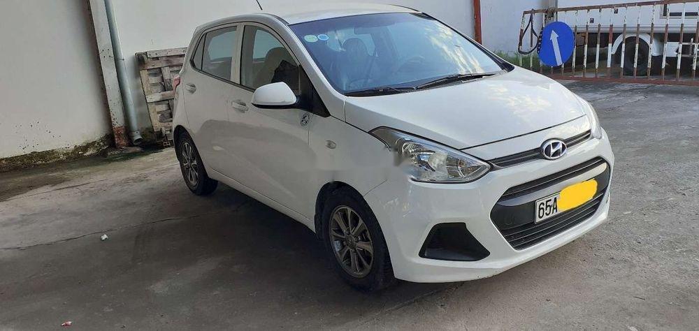 Cần bán xe Hyundai Grand i10 2014, màu trắng, xe nhập chính hãng (3)
