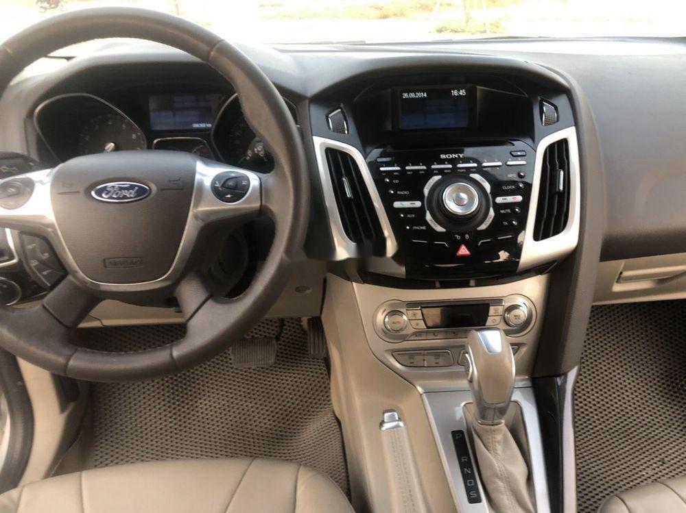 Bán Ford Focus đời 2015, màu bạc giá tốt xe nguyên bản (2)