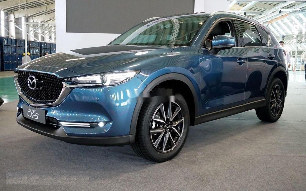 Bán Mazda CX 5 đời 2018, màu xanh lam, nhập khẩu (3)