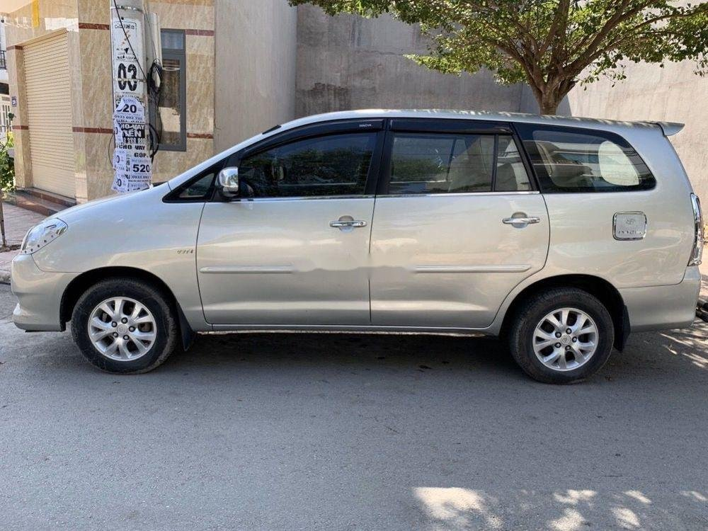 Bán ô tô Toyota Innova 2006, màu bạc xe nguyên bản (3)