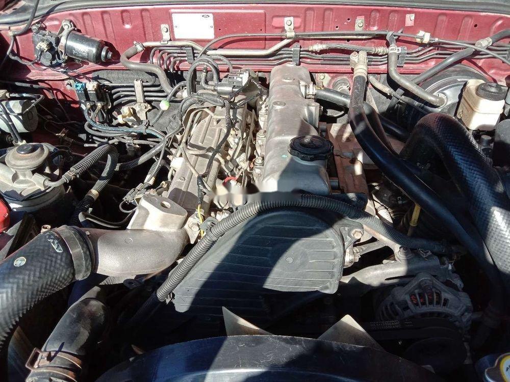 Bán Ford Everest năm 2008, màu đỏ, xe nhập chính hãng (8)