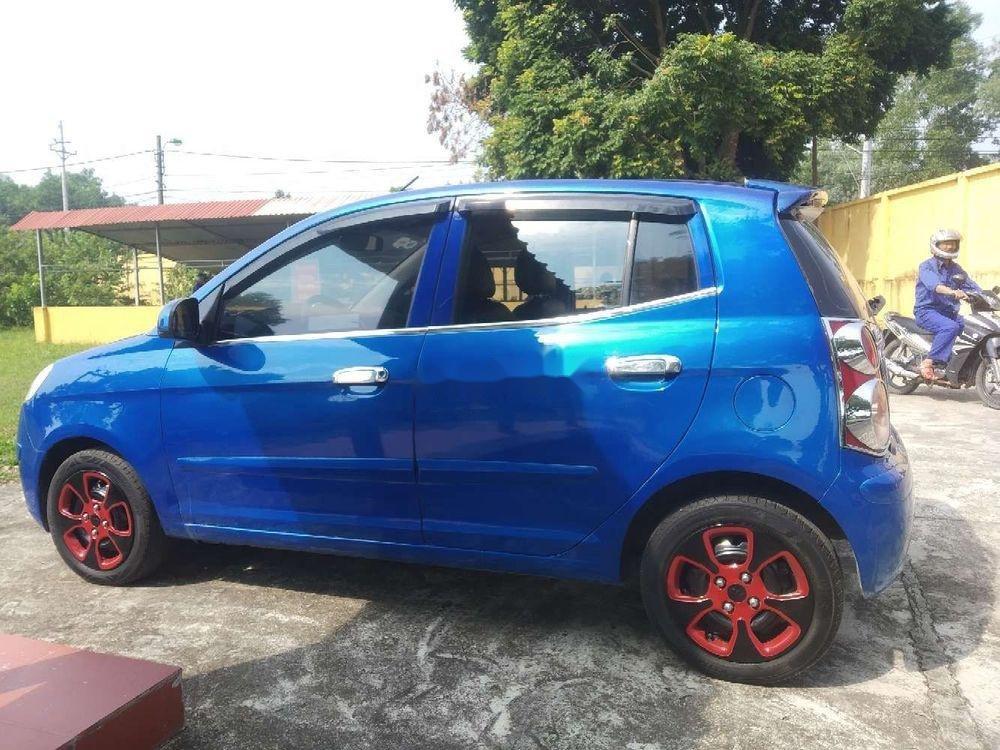 Bán Kia Morning MT sản xuất 2011, màu xanh lam xe gia đình (6)