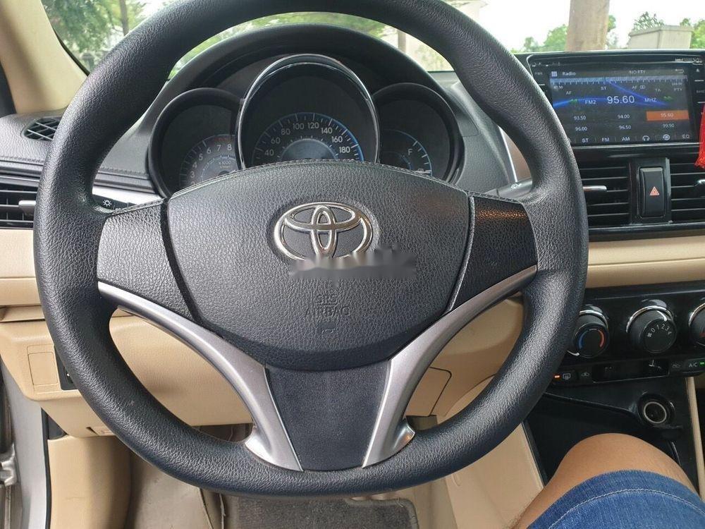Bán Toyota Vios năm 2017, màu bạc xe nguyên bản (6)
