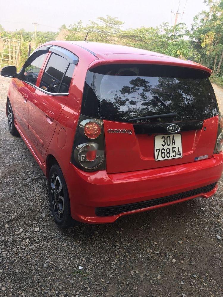 Cần bán xe Kia Morning đời 2011, màu đỏ, 152tr (2)