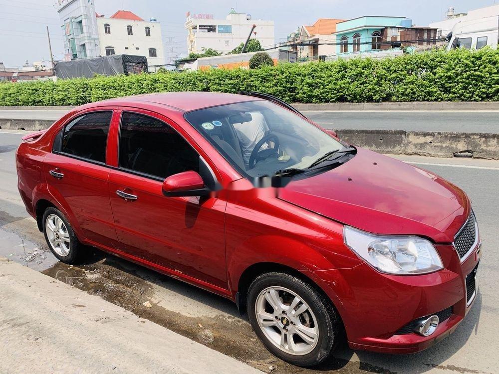 Bán xe Chevrolet Aveo đời 2018, màu đỏ, mới chạy 9.700km (5)