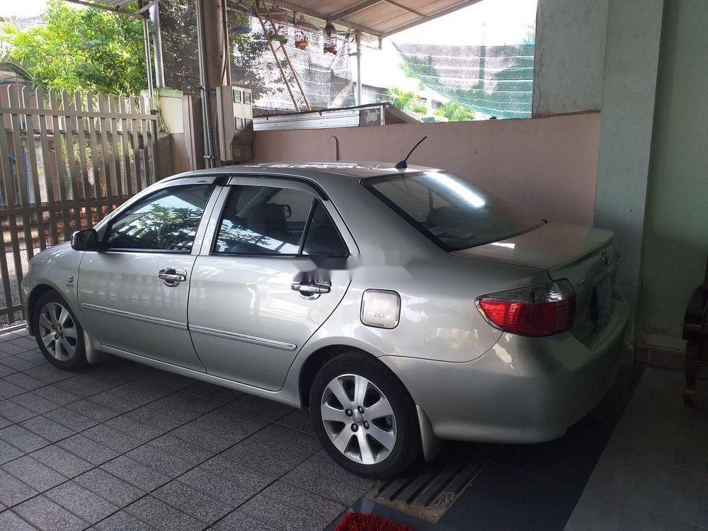 Cần bán xe cũ Toyota Vios đời 2007, màu bạc (9)