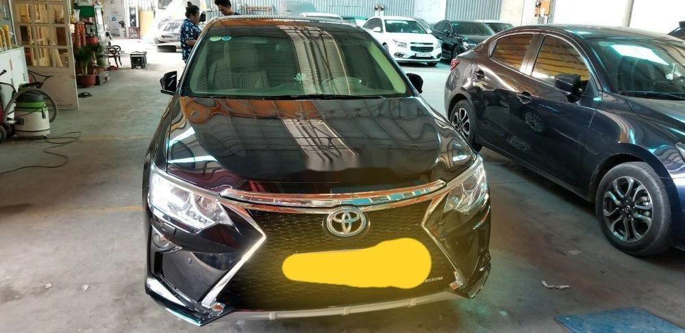Cần bán gấp Toyota Camry đời 2016, màu đen xe nguyên bản (4)
