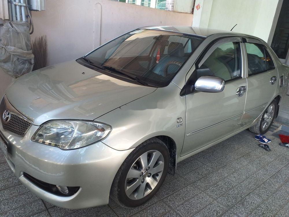 Cần bán xe cũ Toyota Vios đời 2007, màu bạc (1)