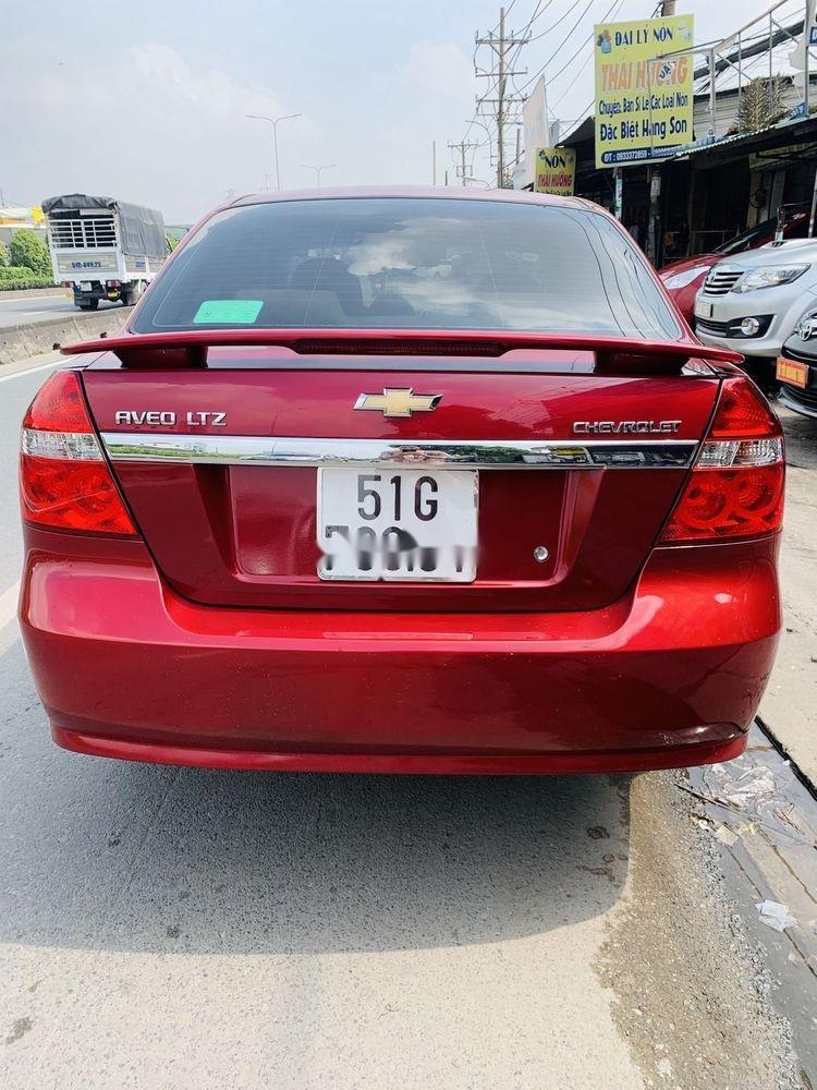 Bán xe Chevrolet Aveo đời 2018, màu đỏ, mới chạy 9.700km (4)