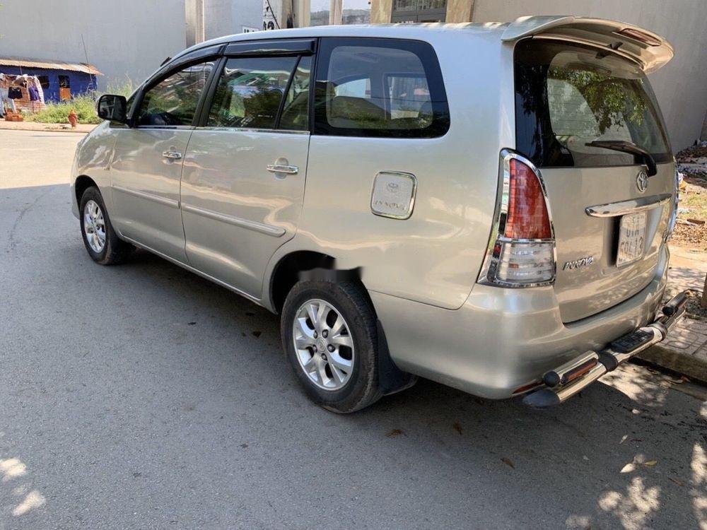 Bán ô tô Toyota Innova 2006, màu bạc xe nguyên bản (9)