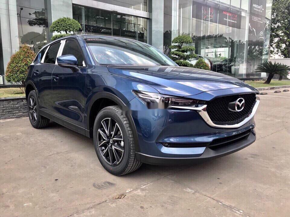 Bán Mazda CX 5 đời 2018, màu xanh lam, nhập khẩu (2)