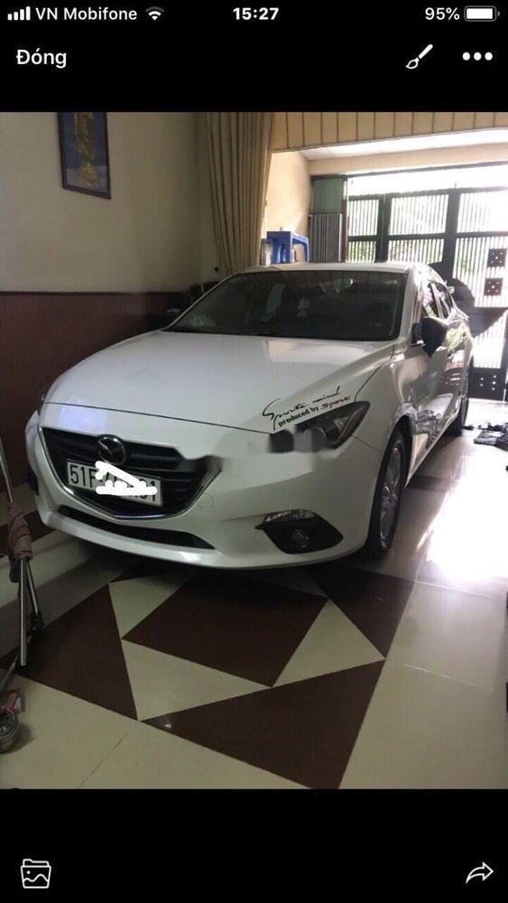 Cần bán Mazda 3 năm sản xuất 2017, màu trắng, nhập khẩu (1)
