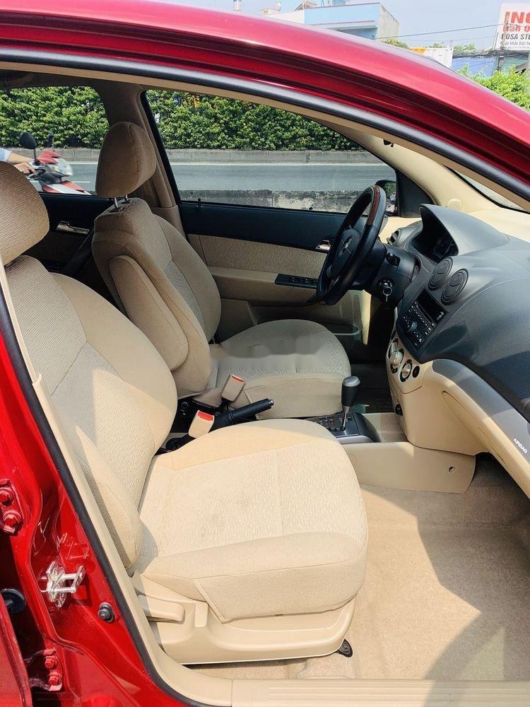Bán xe Chevrolet Aveo đời 2018, màu đỏ, mới chạy 9.700km (6)