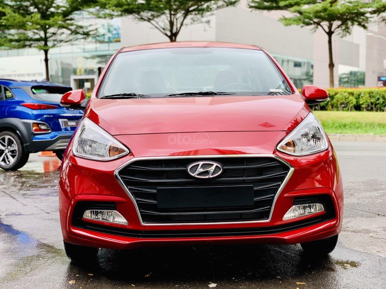 Hyundai Grand i10 giá tốt, góp 90%, hỗ trợ Grab 5 triệu tiền mặt, tặng phụ kiện giá trị thật (1)