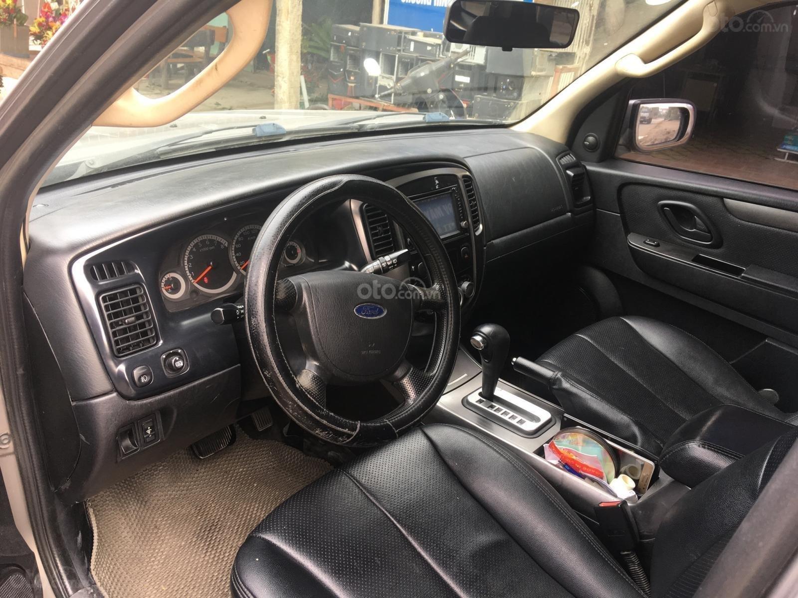 Chính chủ cần bán chiếc xe Ford Escape 2009, màu xám, giá thương thượng (5)