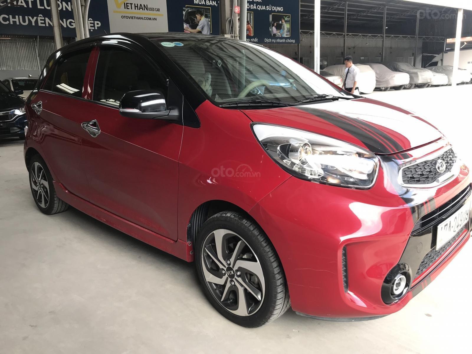 Bán Kia Morning Si 1.25MT màu đỏ số sàn sản xuất 2018 mẫu mới 2019 (2)