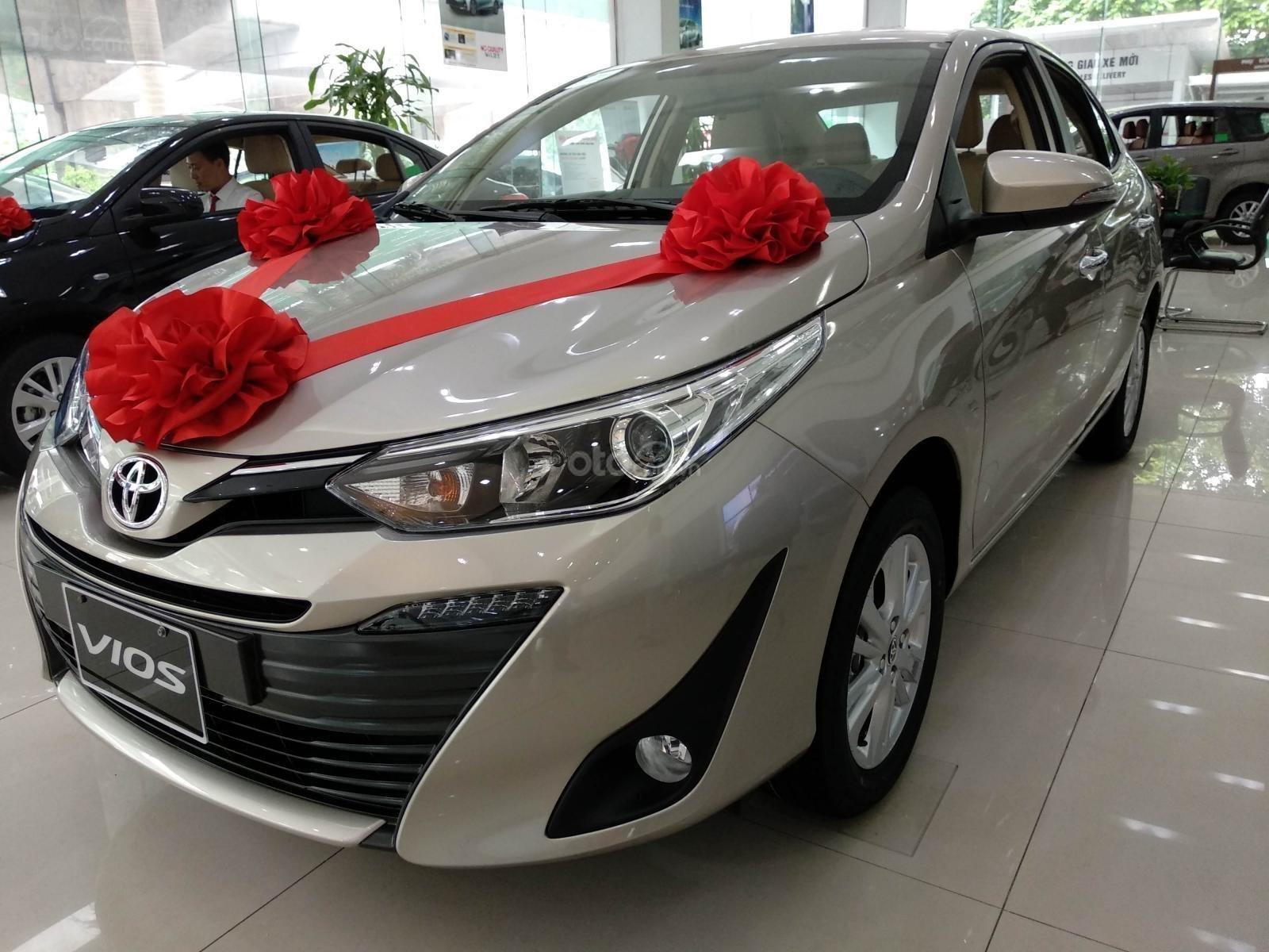 Cần bán nhanh chiếc xe Toyota Vios G, sản xuất 2019, màu trắng, giá tốt (5)
