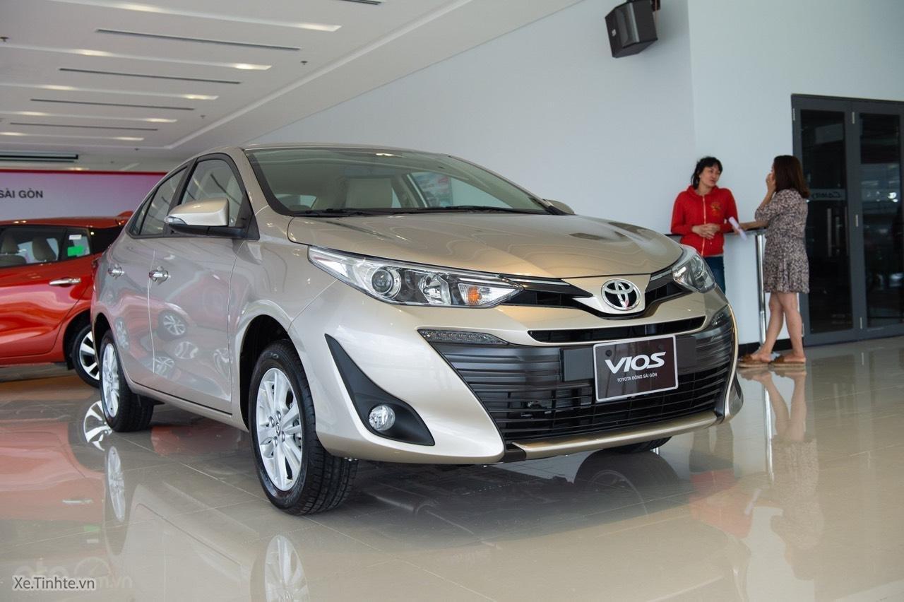 Toyota Vios mới giá tốt LH: 0936936366 mua trả góp lãi suất 0%, 165 triệu giao xe ngay (2)