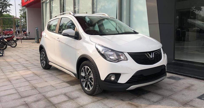 Bán xe VinFast Fadil Base 2019 mới 100% - màu trắng - Hỗ trợ trả gớp 70% (1)