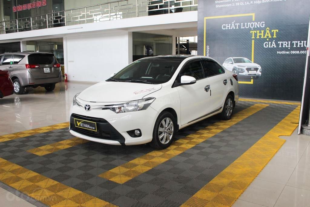 Toyota Vios E 1.5MT 2018, trả góp 70%, có kiểm định chất lượng (2)