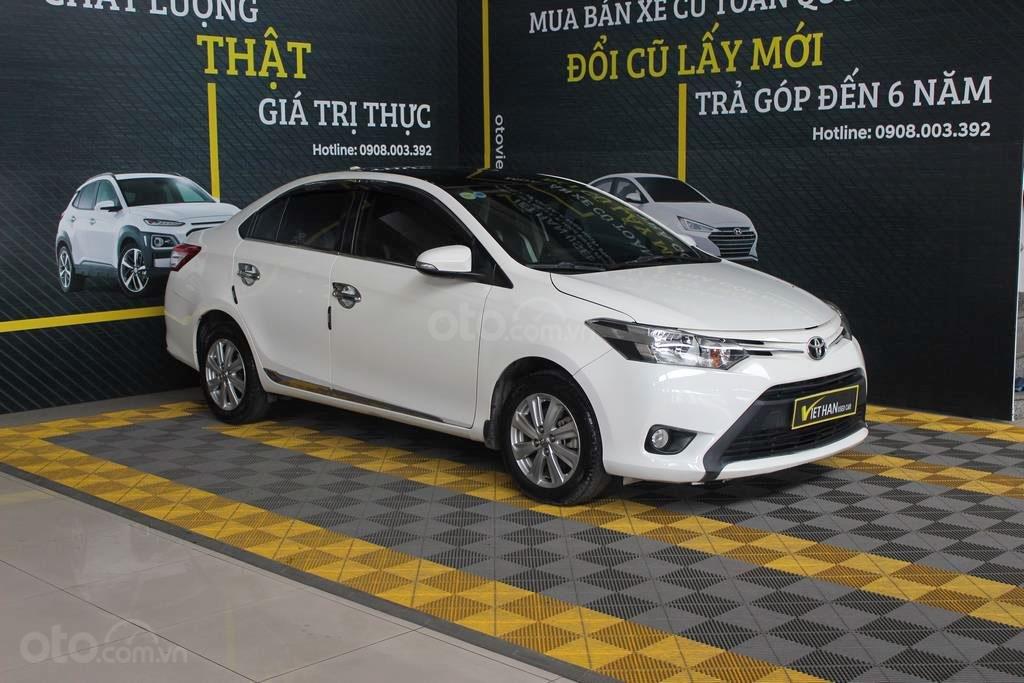 Toyota Vios E 1.5MT 2018, trả góp 70%, có kiểm định chất lượng (1)