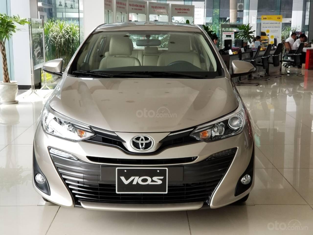 Bán nhanh chiếc xe Toyota Vios 1.5G CVT - 2019 với giá cạnh tranh nhất thị trường (1)