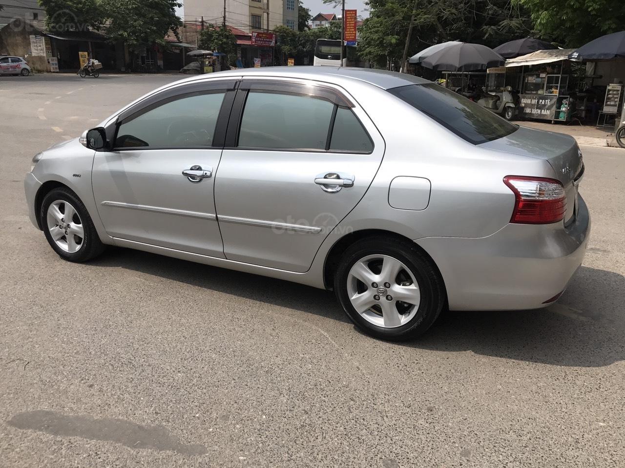 Bán xe Toyota Vios 1.5E đời 2010, màu bạc, nói không với lỗi nhỏ taxi, động chạm máy móc (3)