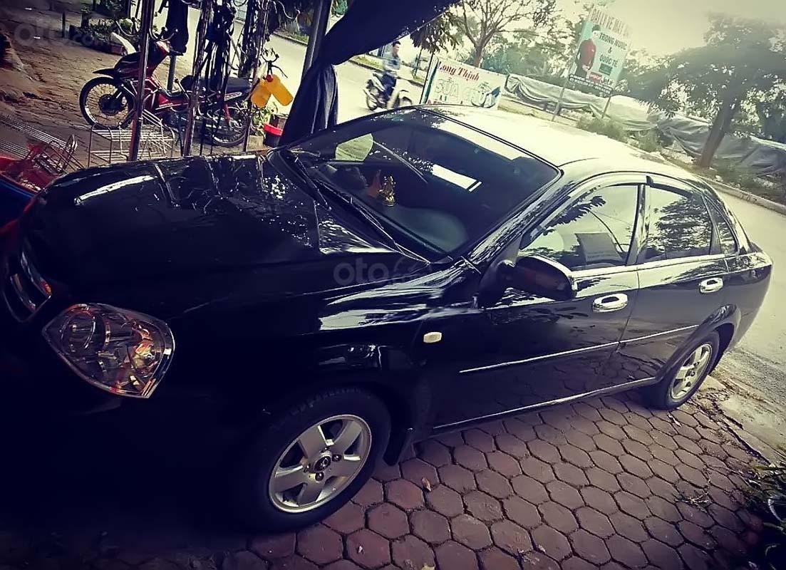 Bán Daewoo Lacetti năm sản xuất 2011, màu đen (1)