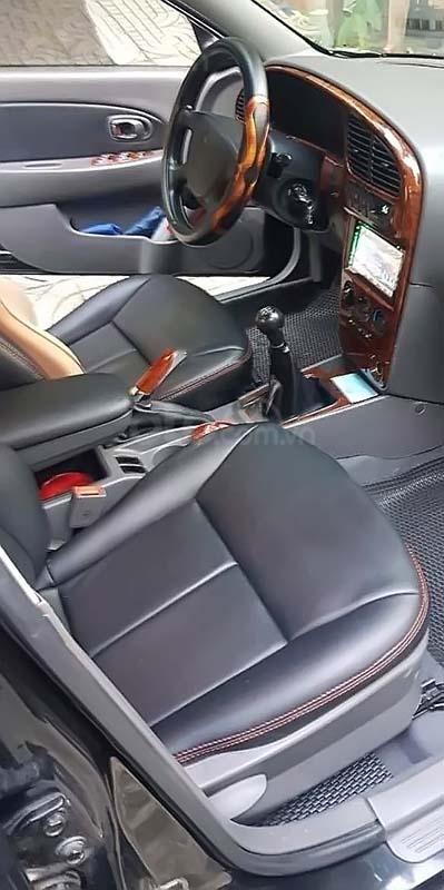 Bán xe Kia Spectra đời 2003, màu đen, nhập khẩu nguyên chiếc, giá 160tr (2)