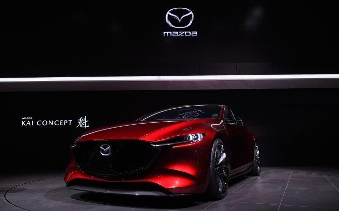 Chiếc Mazda Kai Concept lần đầu tiên được giới thiệu tại triển lãm Tokyo Motor Show 2017.