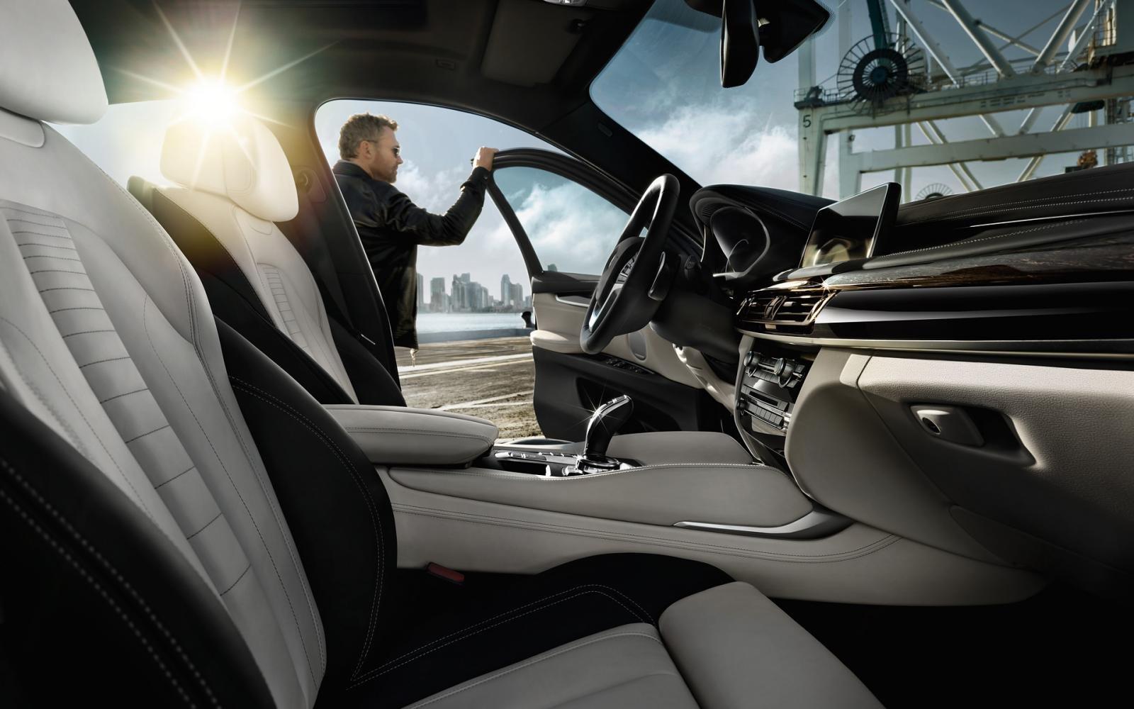 Thông số nội thất xe BMW X6.