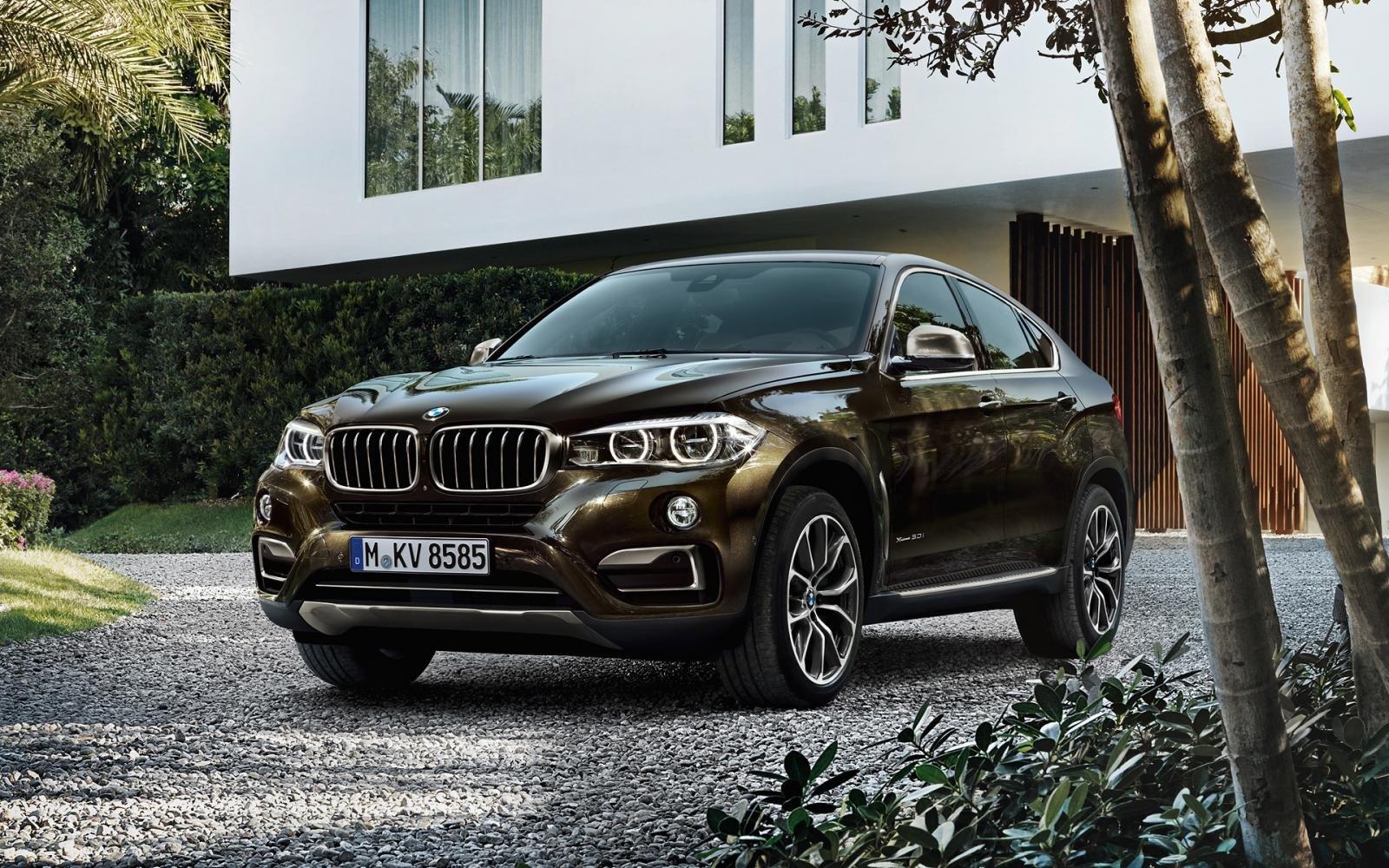 Thông số ngoại thất xe BMW X6.