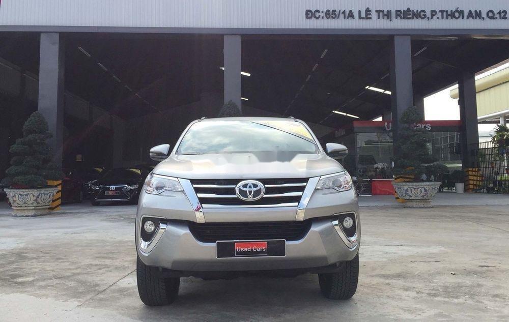 Cần bán gấp Toyota Fortuner năm sản xuất 2019, màu bạc, nhập khẩu nguyên chiếc  (12)