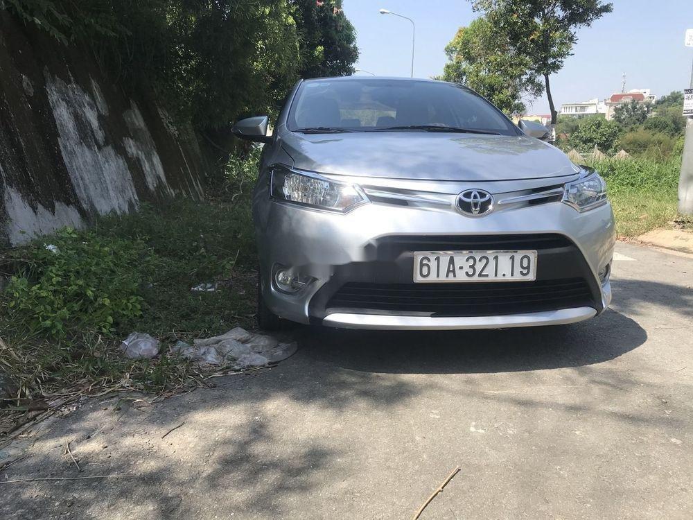 Bán Toyota Vios MT đời 2016, màu bạc (1)