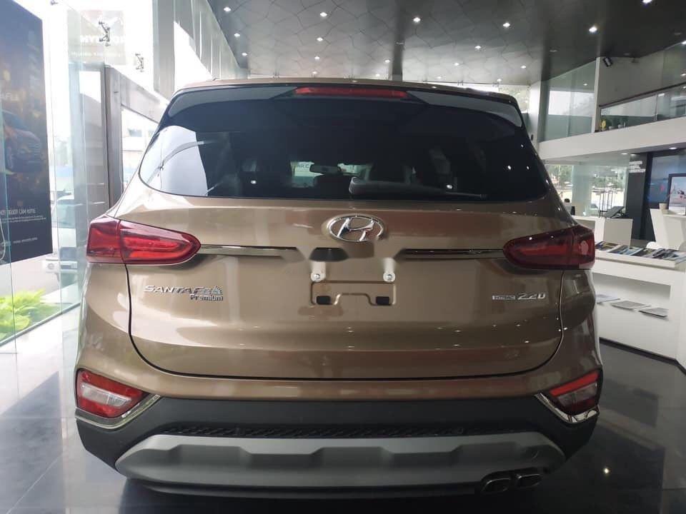 Bán xe Hyundai Santa Fe đời 2019, màu nâu (3)
