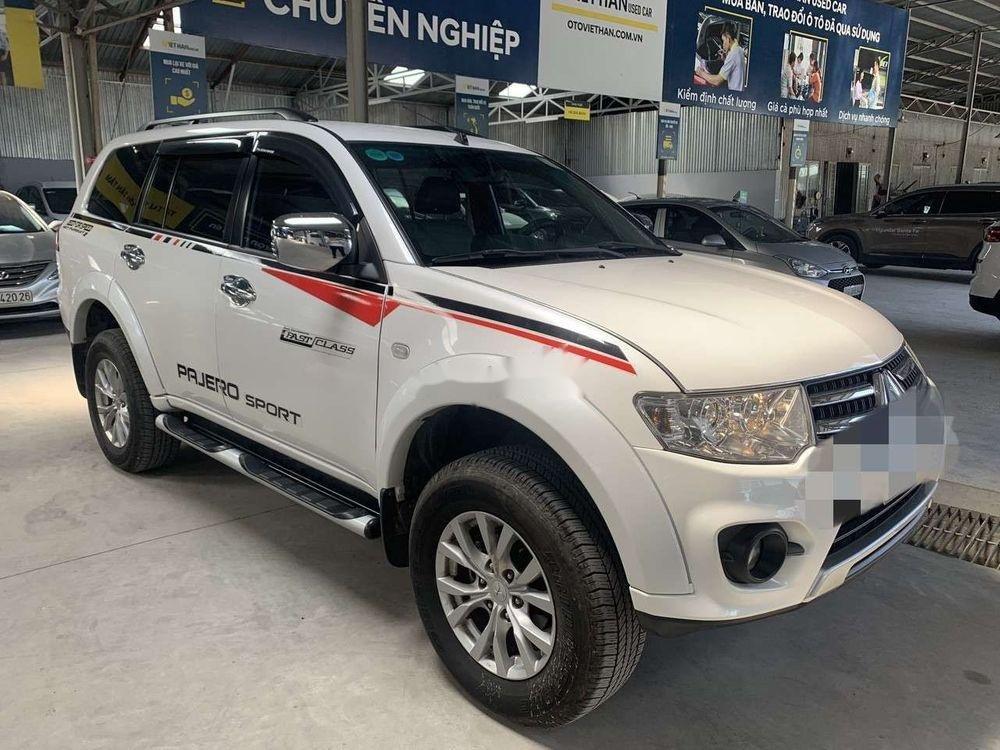 Cần bán xe Mitsubishi Pajero Sport 2.5MT đời 2017, màu trắng số sàn (4)