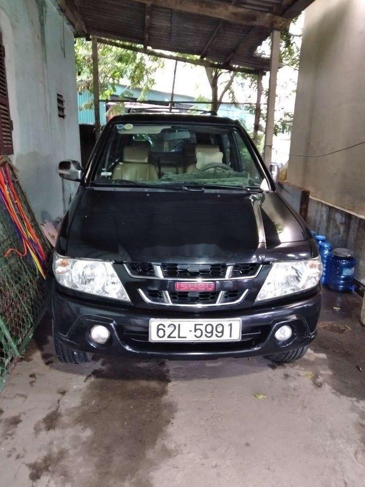 Cần bán lại xe Isuzu Dmax năm sản xuất 2007, màu đen xe nguyên bản (1)