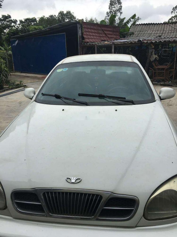 Cần bán lại xe Daewoo Lanos sản xuất năm 2002, màu trắng (7)