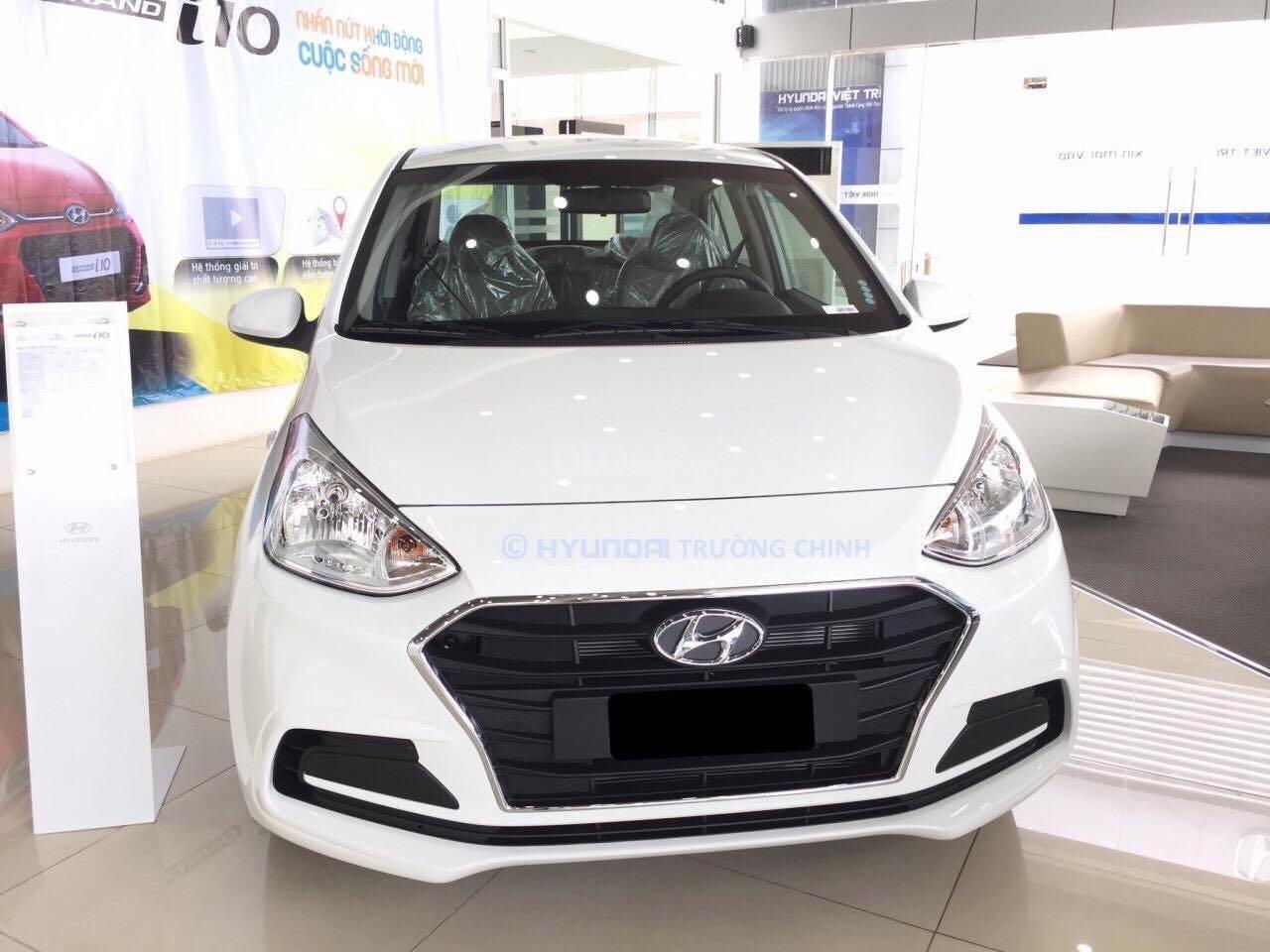 Bán ô tô Hyundai Grand i10 đăng ký 2019, màu trắng, xe nhập giá 340 tỷ đồng, khuyến mãi lớn cuối năm (1)