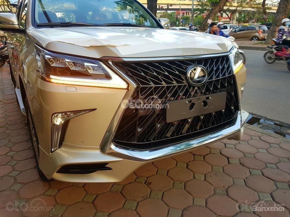 Cần bán chiếc Lexus LX 570S MBS, sx 2019, màu vàng, giá cả ưu đãi (3)