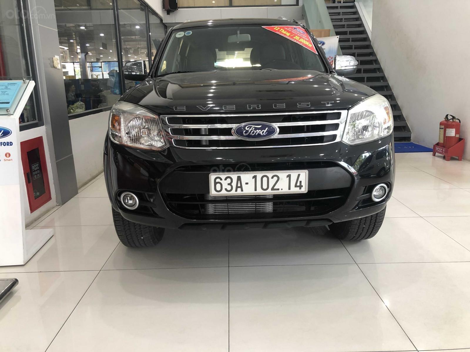 Cần bán Ford Everest đăng ký lần đầu 2014, màu đen xe nhập giá tốt 579 triệu đồng (2)