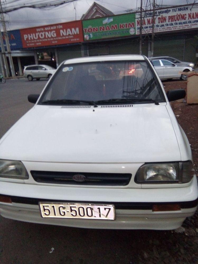 Bán Kia CD5 năm 2001, màu trắng, máy êm ru (1)