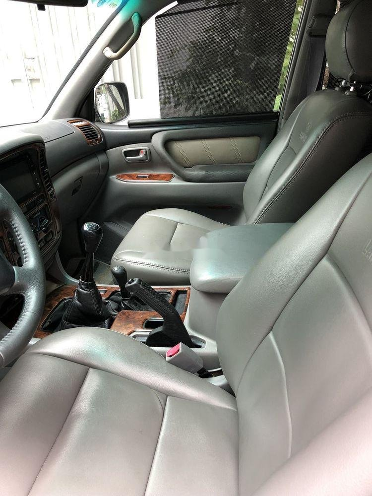 Bán Toyota Land Cruiser đời 2001, màu xám còn mới (11)