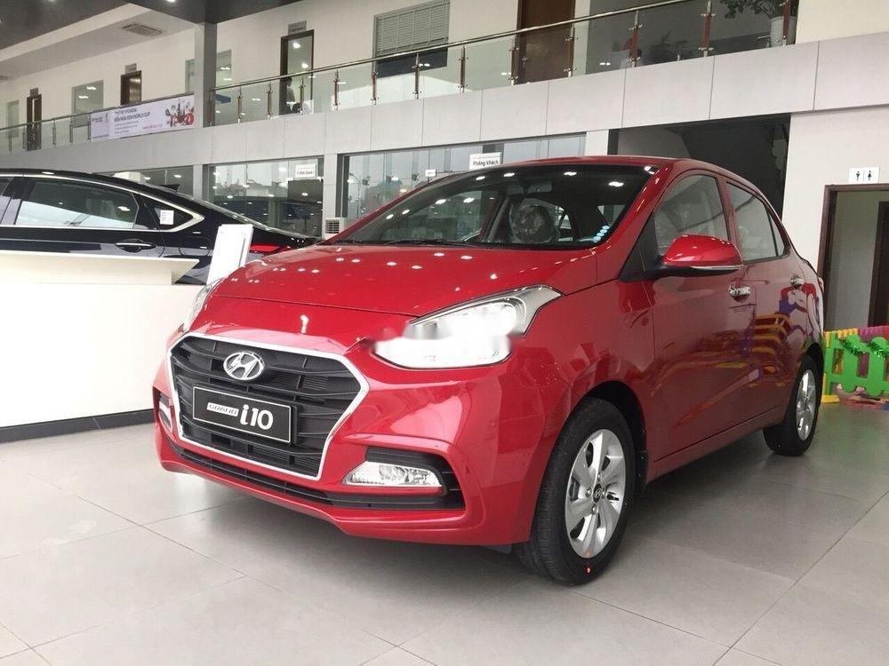 Bán Hyundai Grand i10 sản xuất 2019, màu đỏ, ưu đãi hấp dẫn (1)