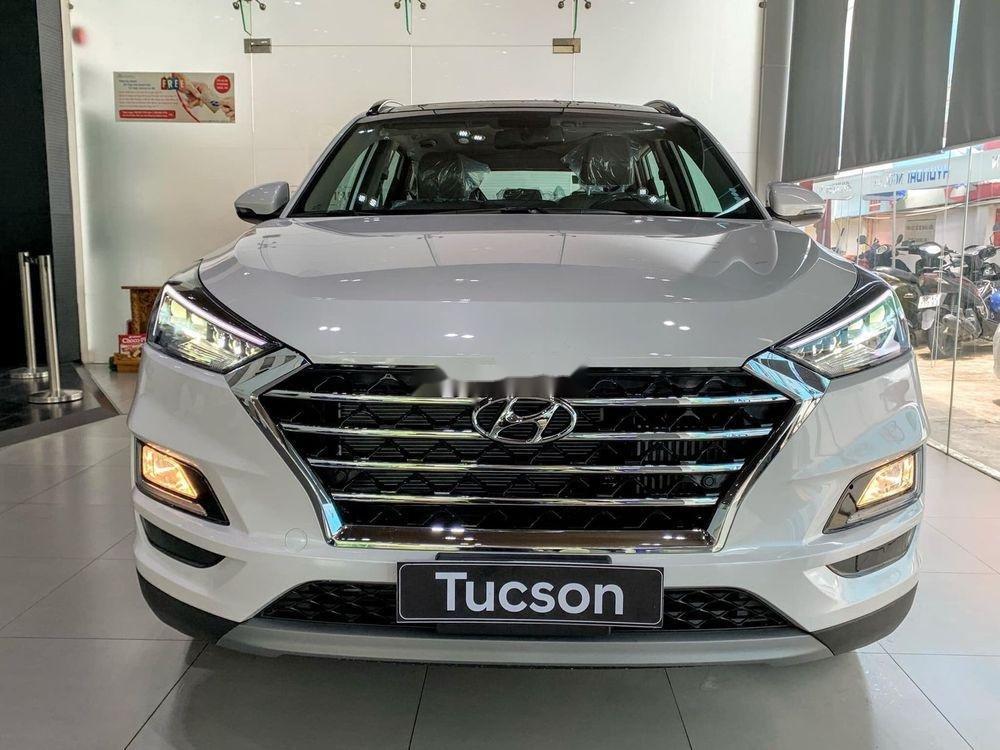 Bán Hyundai Tucson đời 2019, màu trắng, tặng gói phụ kiện (1)