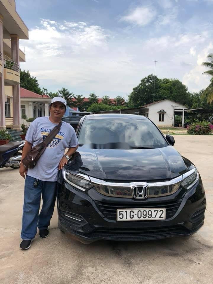 Bán Honda HR-V năm 2018, màu đen, nhập khẩu  (1)