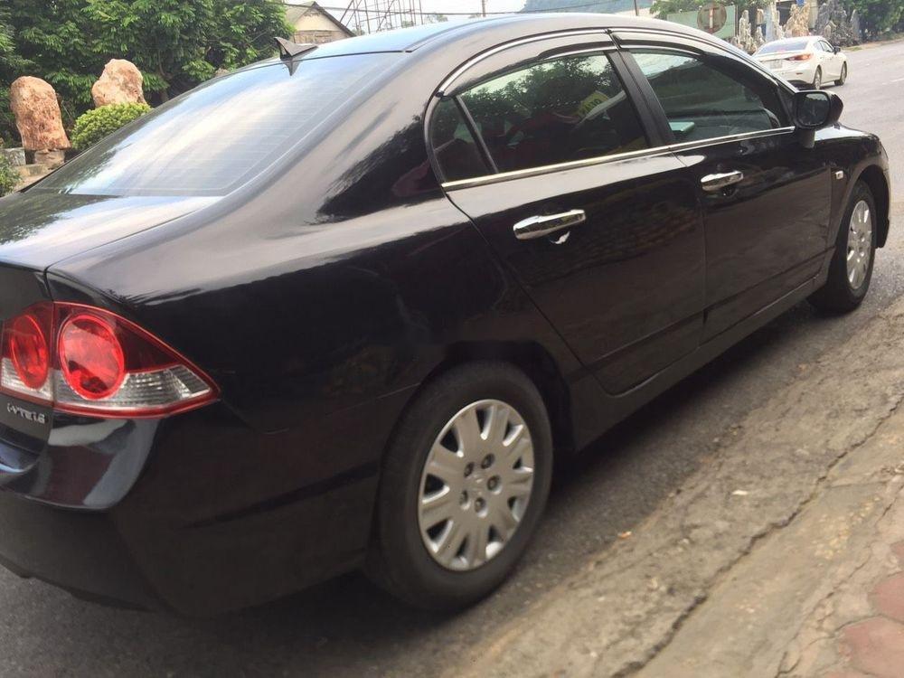Cần bán lại xe Honda Civic sản xuất 2008, màu đen, nhập khẩu nguyên chiếc còn mới (5)